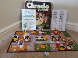 Cluedo Junior Board Game by Parker Games 2-6 players VGC
