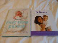 2 x parenting books