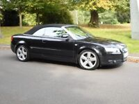 AUDI A4 CONVERTIBLE 2.0 TDI SLINE ONLY 47000 MILES YES ONLY 47000 MILES