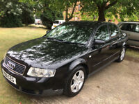 AUDI A4 1.9 TDI SPORT (2001) , 4dr SALOON, DIESEL, 1 OWNER,SERVICES HISTORY.
