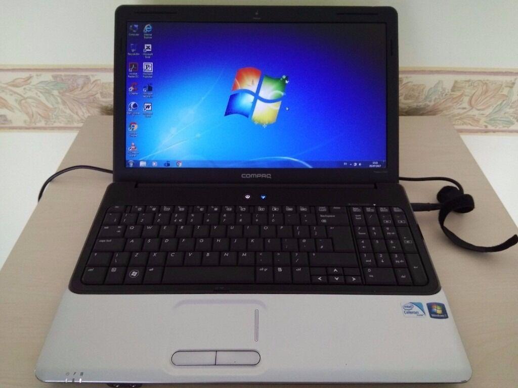 hp compaq presario cq61 327sa laptop in luton bedfordshire gumtree. Black Bedroom Furniture Sets. Home Design Ideas