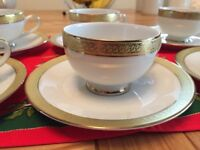 Boots Imperial Gold - Set of 6 Espresso Cups and Saucers