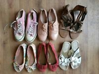 Women's Shoes Size 5 x 6 pairs