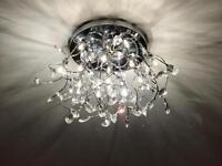 2 x ceiling centre lights FOR SALE