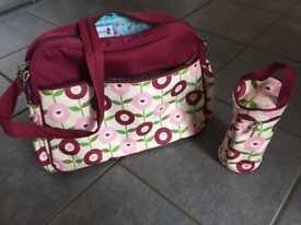 Rosebud London baby changing bag
