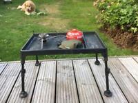 Fox bivy table