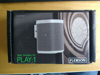 Flexson Wall Bracket for Sonos Play:1 Speaker BNIB