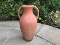 TERRACOTTA VASE PLANTER POT POTS 50 cm TALL Excellent Condition Gorgeous Item