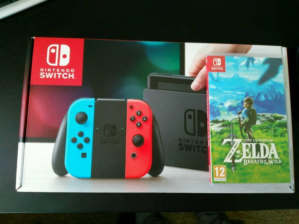 Nintendo switch zelda botw zelda case and orzly screen for Housse zelda nintendo switch