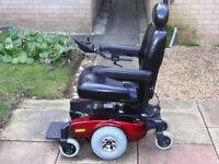 Electric Power Wheelchair with Elevating Seat. Great condition. Can deliver.