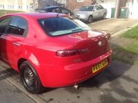 Alfa Romeo 159 1.9, 57 Plate, RED, Diesel Great Car, Good condition for the cars age. Must See!!