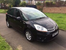 Citroen C4 Picasso 1.8 i VTR+ 5dr, 6 MONTHS FREE WARRANTY, FULL SERVICE BOOK