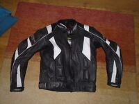 Leather Motorcycle Jacket RST
