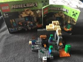 Minecraft Lego the dungeon set 21119