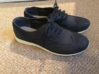 Marks and spencer footglove Leather shoes 4's