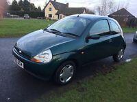 Ford KA 2002, low mileage £600 ONO