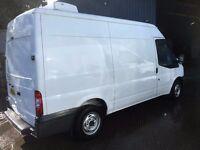 ford transit mwb fridge van.2010.one owner.new mot.ready for work