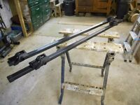 Car roof rack/bars to fit all vehicles with side rails
