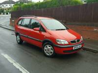 2004 vauxhall zafira 1.6 7 seater. Full mot and only 1 private owner from new
