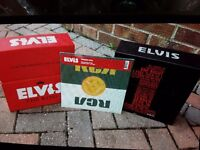 Two box sets of elvis prestley