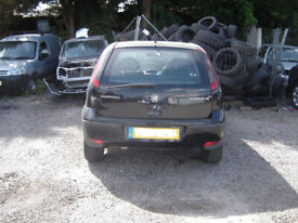 Vauxhall Corsa 1.2 Petrol Manual In Black 87k-BREAKING FOR SPARES,MANY PARTS AVAILABLE..