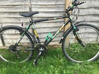 "Falcon hybrid bike. 20"" frame. Road tyres. Fully working"