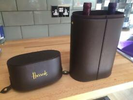 Genuine Harrods duel wine carry case