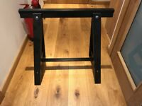 *FREE* 1 - 10 Ikea Trestle legs - Black ODDVALD