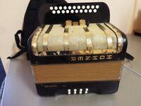 A Hohner Primatona 4 voice BC Tunning accordion Quick Sale £300