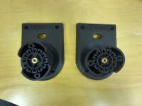 Mission speaker wall mount brackets