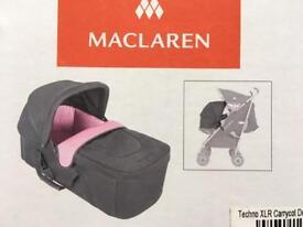 New boxed Maclaren cot attachment