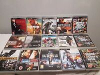 15 PS3 games, please look at the pictures for full list