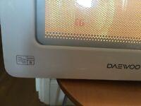 Compact Microwave Daewoo QT 6 Autocook Programmes 2 ways defrost
