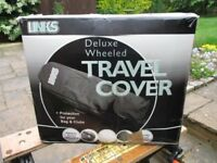 Links Wheeled Travel Golf Bag Cover