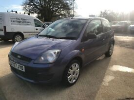 Ford Fiesta 1.25 Style Climate Hatchback 3dr Petrol Manual (142 g/km, 74 bhp) (purple) 2007