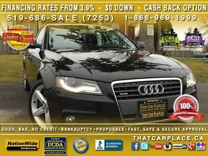 2011 Audi A4 Quattro- $88Wk - AWD - Leather -Bluetooth- Audi Al