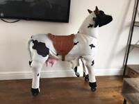 Bongo bongos ride on cow
