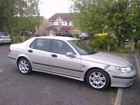 SAAB 9-5 VECTOR AUTO 2005 PRIVATE PLATE MOT SEPTEMBER LUXURY CAR