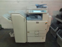 Ricoh colour A3 A4 photocopier printer scanner, Ricoh MPC5000 + Booklet maker