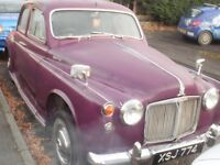 ROVER 100 P4 [1962] CLASSIC CAR TAXED AND TESTED 2017
