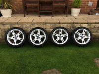 "Ford Fiesta Zetec S 16"" Alloy Wheels & Tyres (2 New)"