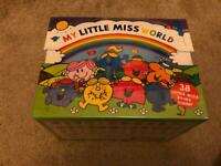 My little miss world Collection/ set 38 books by Roger Hargreaves brand new in wrapping