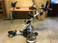 Motocaddy S7 Remote Control Electric Golf Trolley + Accessories + Spare Remote Control + Lithuim