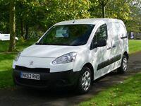 2013 63 Reg Peugeot Partner 850s L1 Hdi (64,000 Miles) Finance Available (Full Service History)