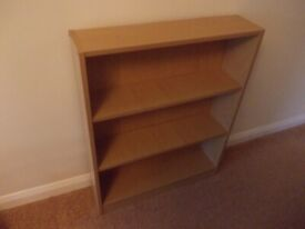 Small Ikea bookcase/DVD storage good condition