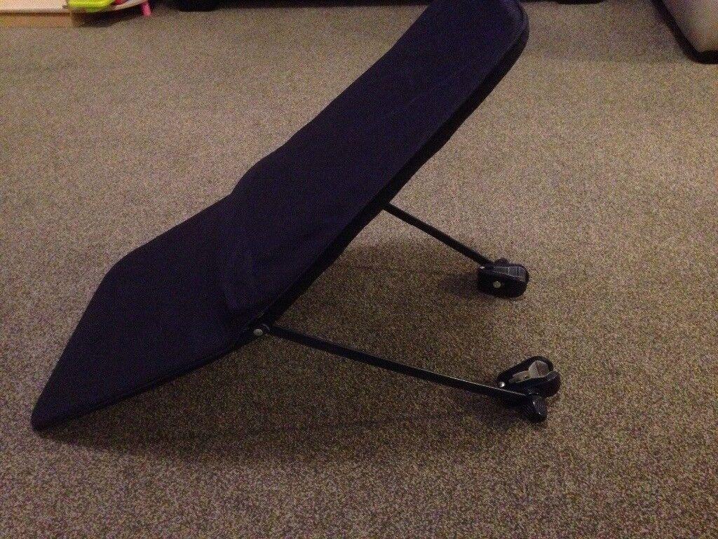 Baby sunshade for pushchair alternative to parasol