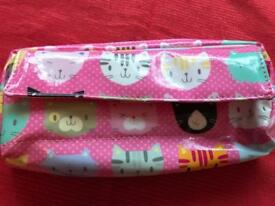 Paper chase Cat pencil case.