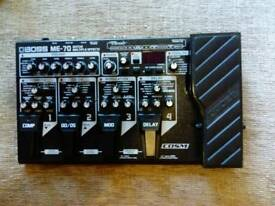 BOSS ME-70 guitar multiple effects pedal.