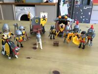 Play Mobil knight and carriage set