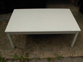 Pine Ikea table white